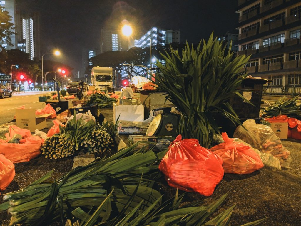 While Singapore Sleeps: Midnight At Toa Payoh East Vegetable