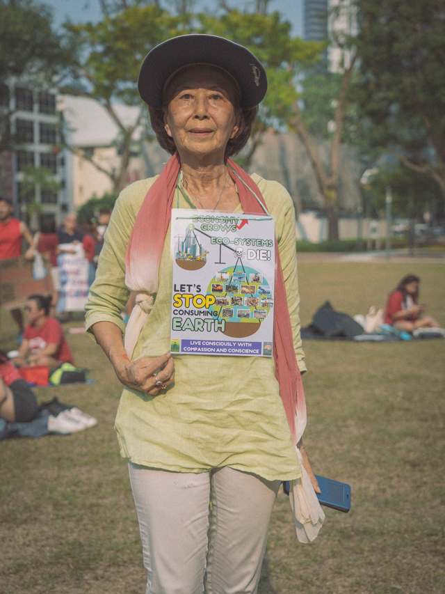SG Climate Rally: Hope is No Longer Enough to Save the Earth. We Need Action.